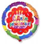 Круг / Торт С Днем рождения