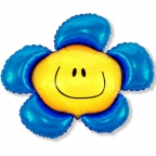 Цветочек синий