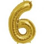 """Цифра """"6"""" Золото / Six"""