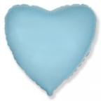 Сердце Пастель Голубой / Blue